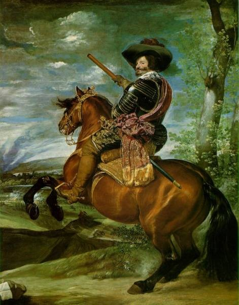 The Count Duke of Olivares on Horseback